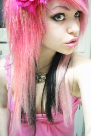 http://th09.deviantart.net/fs49/300W/i/2009/177/8/3/Pink_hair_betch_by_Nazzirithe.jpg
