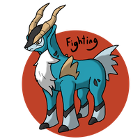Pokeddex Day 2 - Cobalion by Kame-Ghost