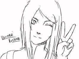 Kushina :3 by uzunae