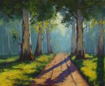 Forest Light by artsaus