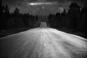 100913 - Finland - Road 93. by JakezDaniel