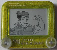 Bolin etch a sketch by pikajane