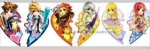 KH bookmarks- bunched together by borammy