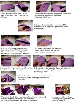 Origami Box-Bowl TUTORIAL by carriephlyons