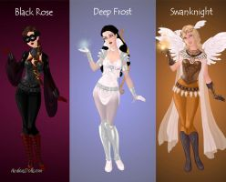OUAT Superheroines Pt. 1 by MlleRevenant