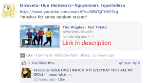 Hetalia Facebook: Hot Potato by gilxoz-epicness