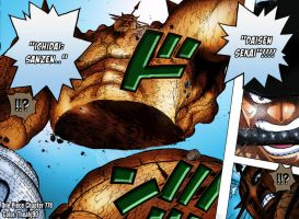 One Piece Chapter 778 Zoro VS Pica climax Part 1 by Theahj90