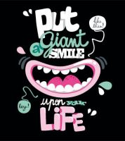 giant smile by tamaraionel