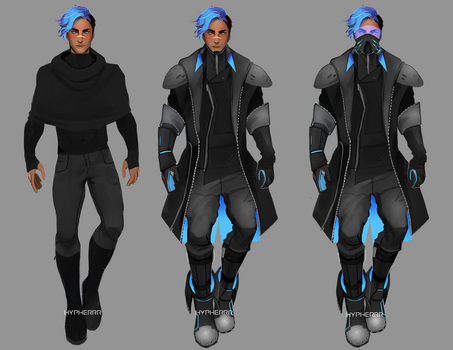 Atlas Outfits by hypherrr
