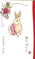 Thank You Bunny by Apatha7
