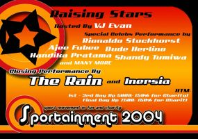 SPORTAINMENT Flyer front by thornandes