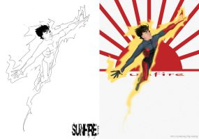 Sunfire --- Sketch and Color by Kalisto-ka