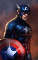 Captain America by morganagod