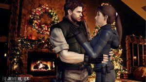 Chris and Lara on Christmas Eve by JhonyHebert