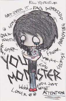 You Monster by CarryOnLostFriends