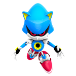 Classic Metal Sonic Render, WttP 4/4 by Nibroc-Rock
