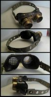 Steam Punk Goggles - Detail by CaelynTek