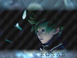 kingdom hearts roxas by LumenArtist