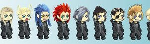 KH2: Chibi Group by Loreen
