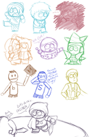 LS Sketches by Its-Allisa