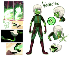 SU: Variscite (Speculation, slight spoilers) by Wolframclaws