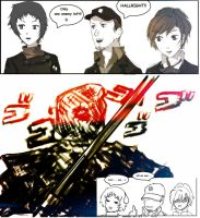 Persona 3: Just One Left by KoeiX2