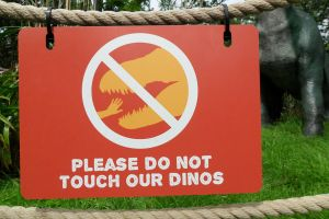 Dino Zoo Do Not Touch by JWBeyond