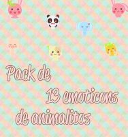 Pack de emoticons by kittymoon23
