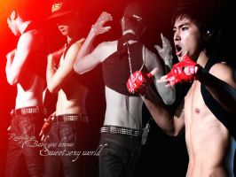 Sweet Sexy YunHo by s2Faye