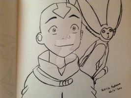 Aang : The Last Airbender by themagicofpotter