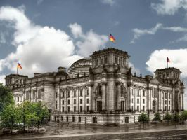 German Reichstag by pingallery