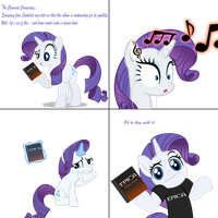 MhP : Rarity's Moment with Intense Classical Music by ShadyHorseman