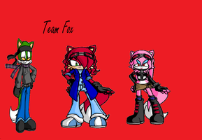 Sonic Riders Outfits: Team Fox by BladetheEchidna1