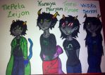 Beta trolls (med bloods) by meganthebat22