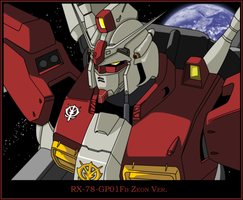RX-78-GP01Fb Zeon Ver. by Resak