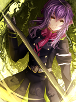 Shinoa Hiiragi by JessLb