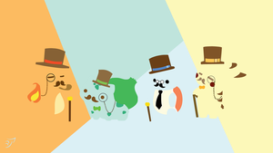Pokemon Gentleman - minimaliste by AreXinK