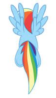 Rainbow Dash, Fly North by Archonitianicsmasher