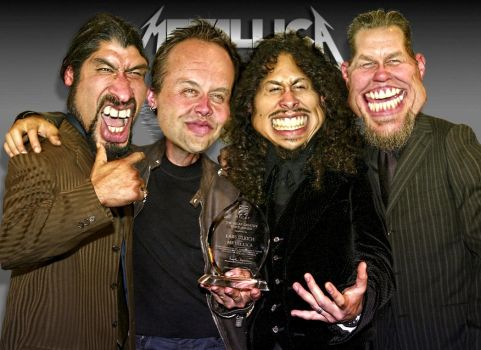 Metallica - A Group Caricature by RodneyPike