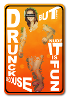 Drunck and nude by mihaimcm94