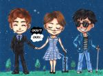 Chibi Comission The Fault In Our Stars by Valaquia