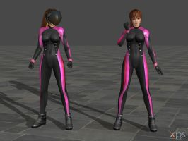 DOA5 Kasumi Costume 07 Tights by rolance