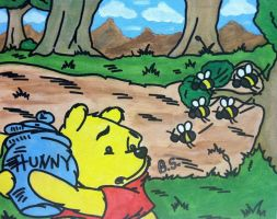 Winnie the Pooh by sampson1721