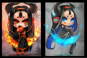 CHIBI cold and hot fire DONKI by junefeier