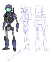Metal Breakdown - Police Unit by Dakazis-Bro