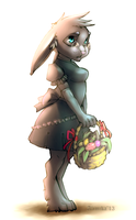 . Eastern Bunny . by InfernalGuard