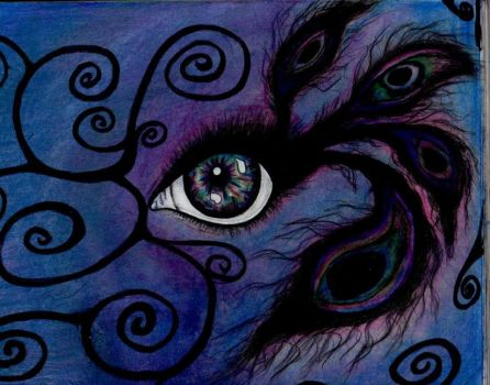 The eye of the peacock. by xXPlatinumSkiesXx