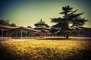 Temple of Heaven double Pavilion by sunny2011bj