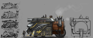 Angel Guard Steam Tank by Erebus88