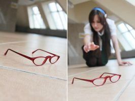 Mari Illustrious Makinami. Glasses by Veliya